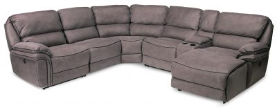 Living Room Furniture Sectionals Infinity Power Recliner Sectional
