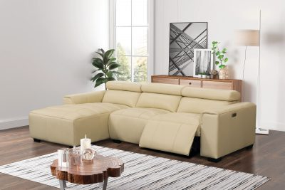 Brands Jaguar Collection James Sectional w/Recliner