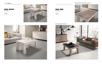Natura & Infa Table