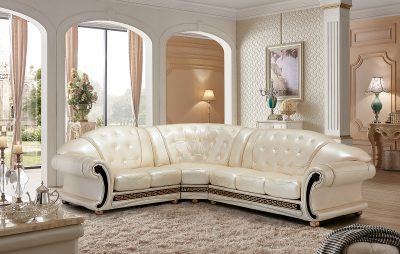 Living Room Furniture Apolo Sectional Pearl Apolo Sectional Pearl