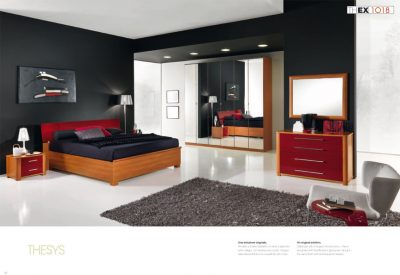 Collections MCS Modern Bedrooms, Italy Thesys Collection Composition 1018