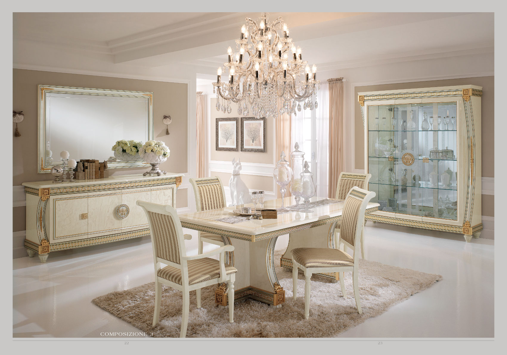 Versace Chair Liberty Day Arredoclassic Dining Room Italy Collections