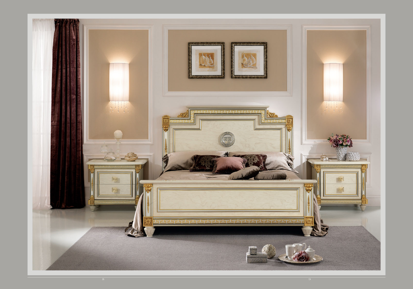 Liberty Night Arredoclassic Bedroom Italy Collections