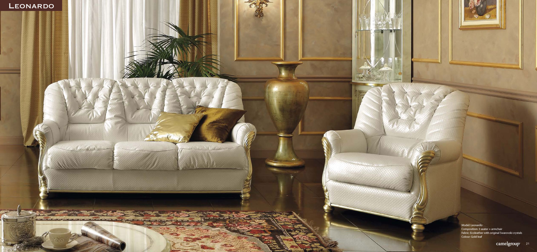 Brands Camel Gold Collection, Italy Leonardo Living