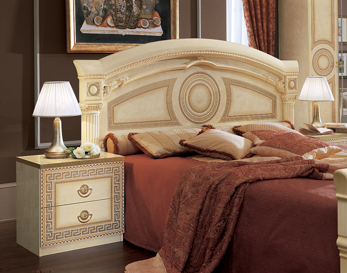 Aida Ivory w/Gold, Camelgroup Italy, Classic Bedrooms, Bedroom ...