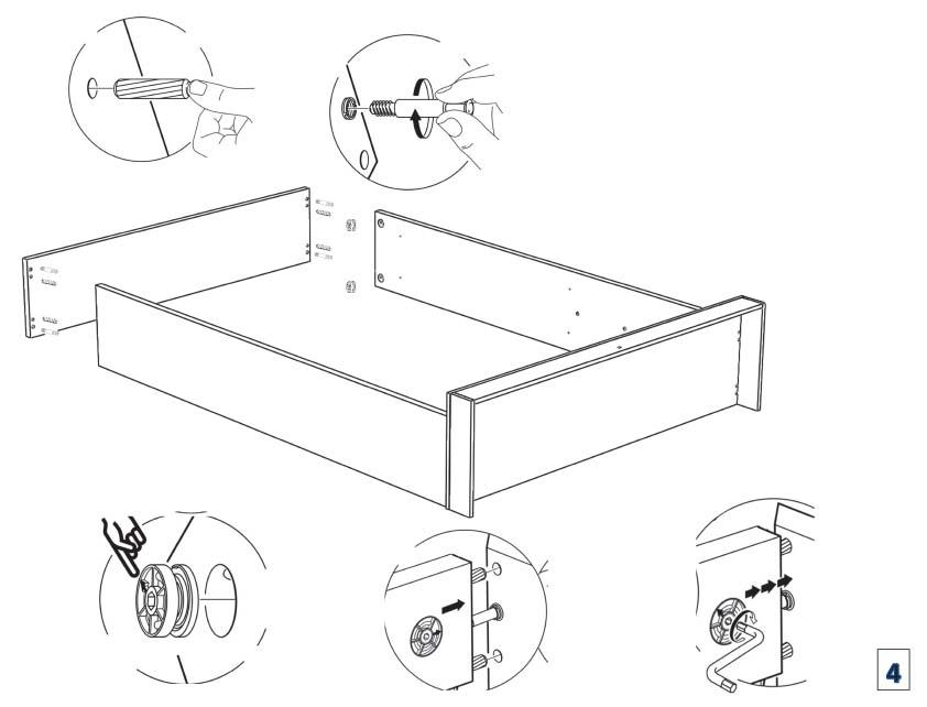 Barcelona Beds With Storage Bedroom Furniture
