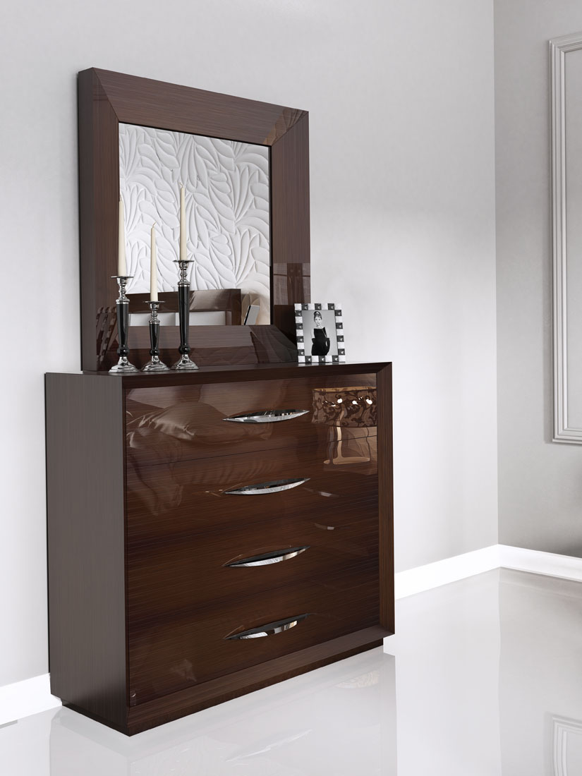 carmen walnut, modern bedrooms, bedroom furniture