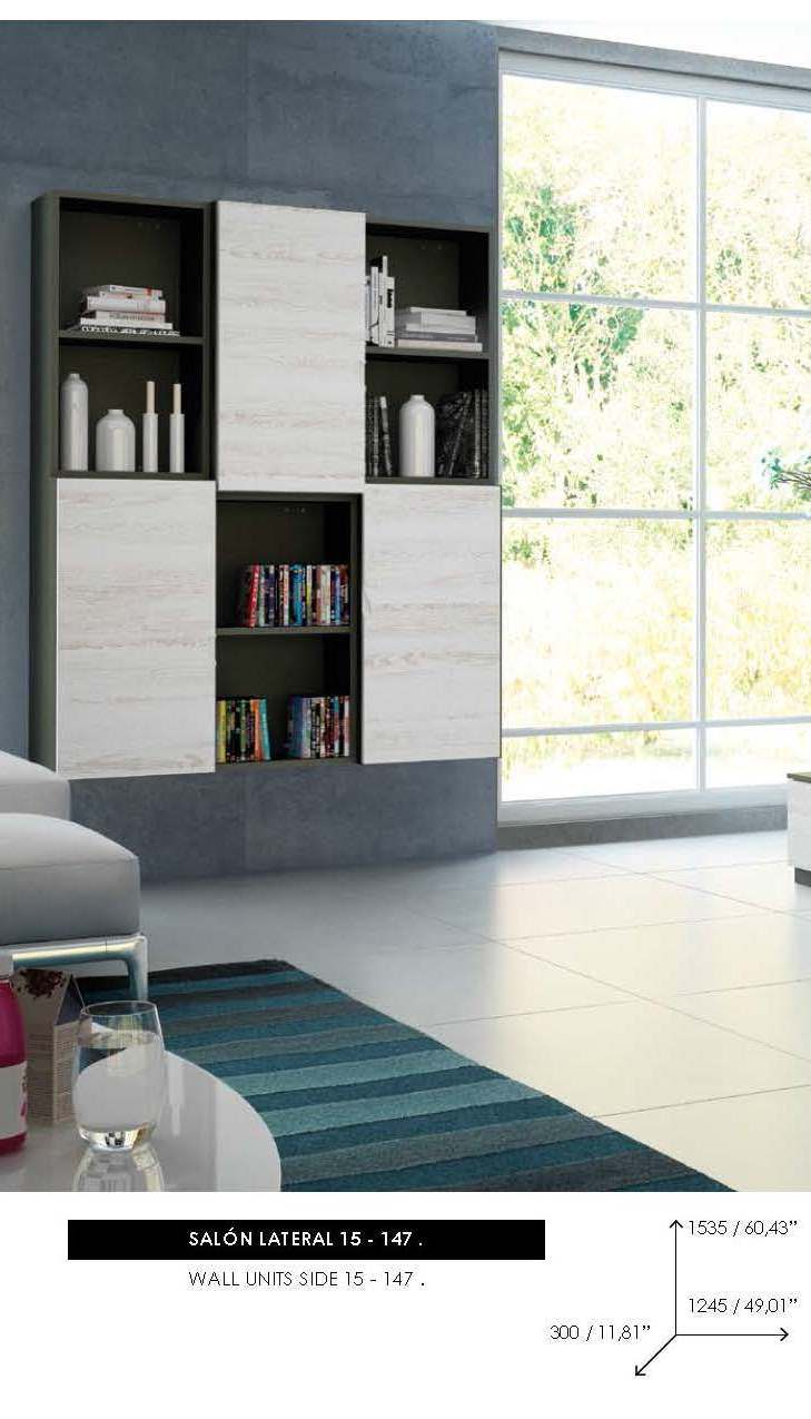 Brands Fenicia Wall Units, Spain Fenicia Wall Unit Salon 15 L
