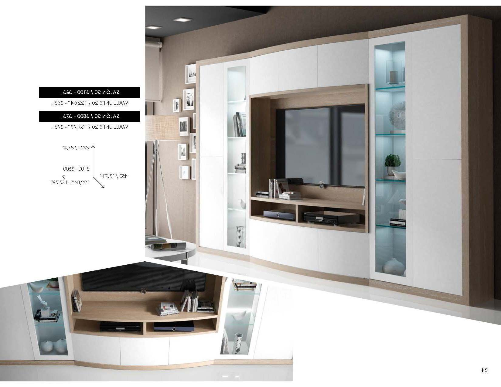 Brands Fenicia Wall Units, Spain Fenicia Wall Unit Salon 20
