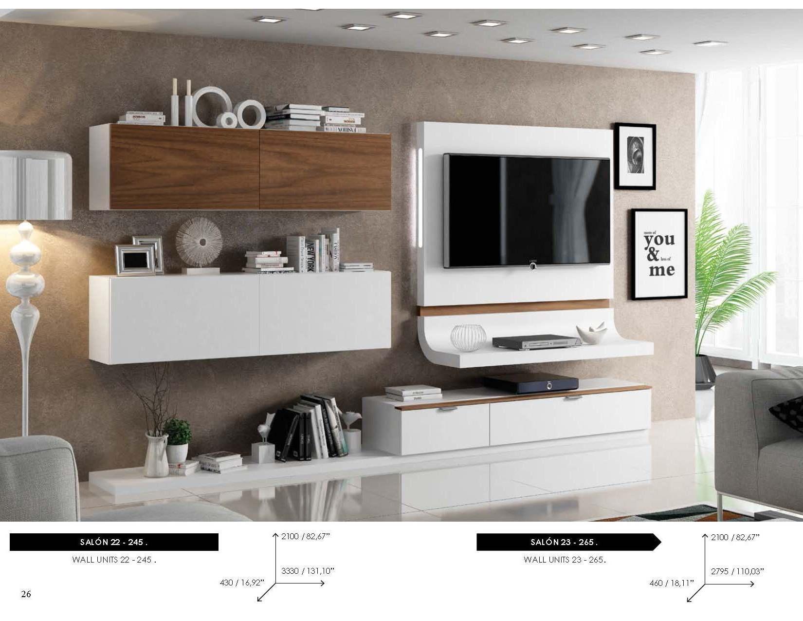 Fenicia Wall Unit Salon 22, Modern Bedrooms, Bedroom Furniture