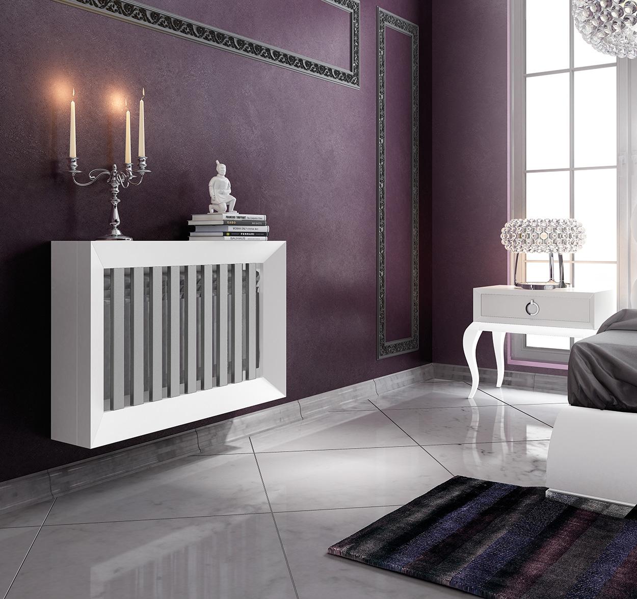 Brands Franco AZKARY II Radiator Covers, SPAIN RII.07 RADIATOR COVER