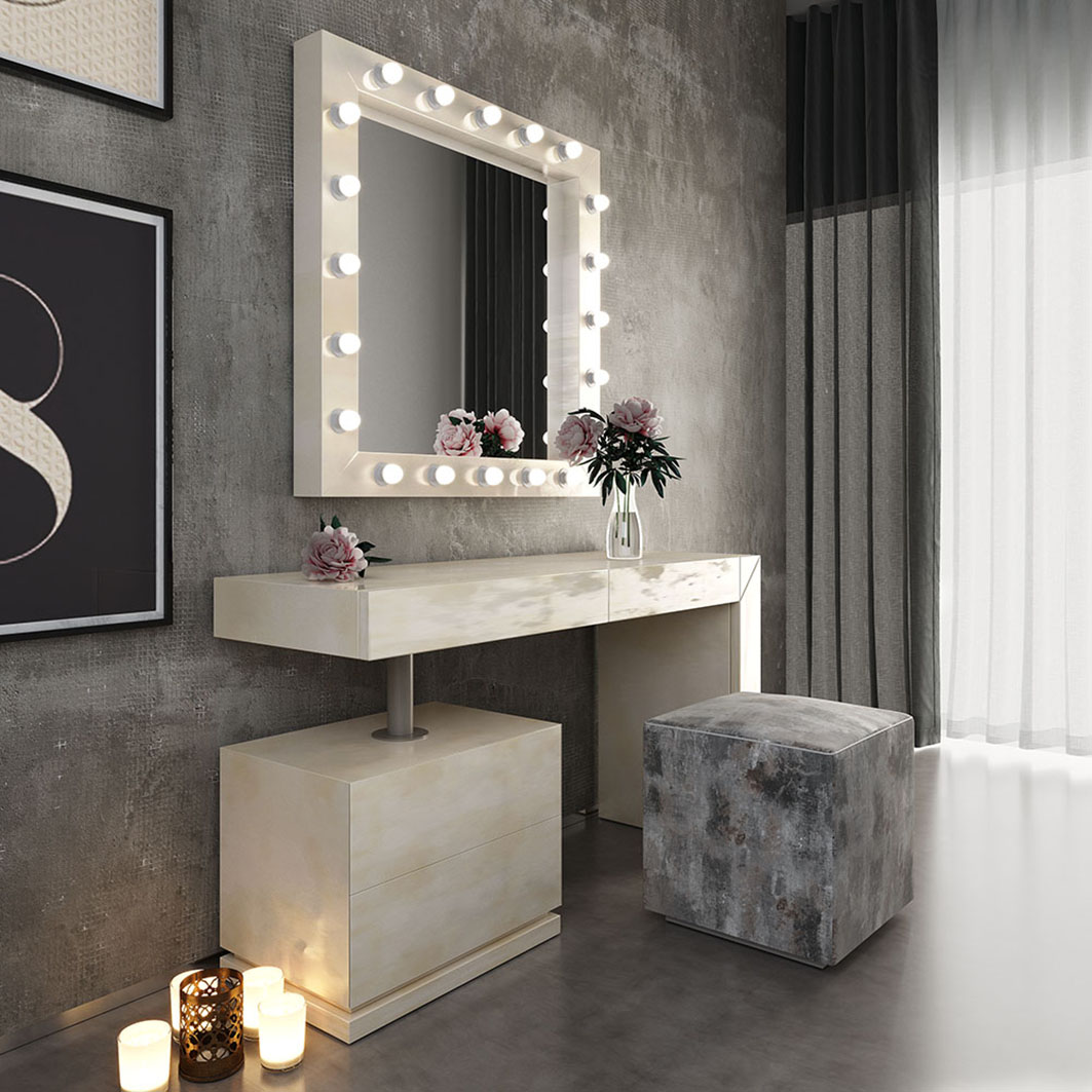 Nb03 Vanity Dresser Twin Size Kids Bedrooms Bedroom Furniture