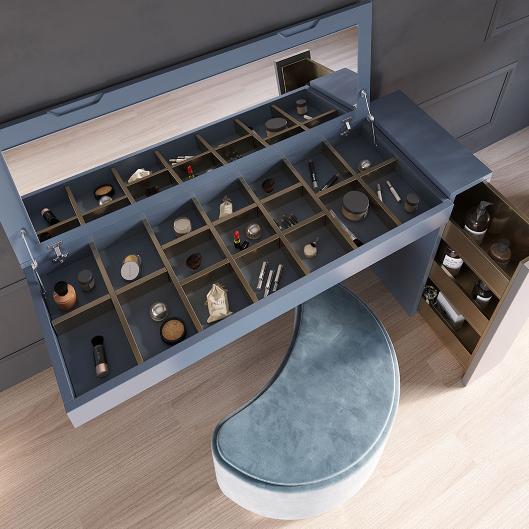 NB35 Vanity Dresser, Franco Furniture New BELLA Vanity Chest