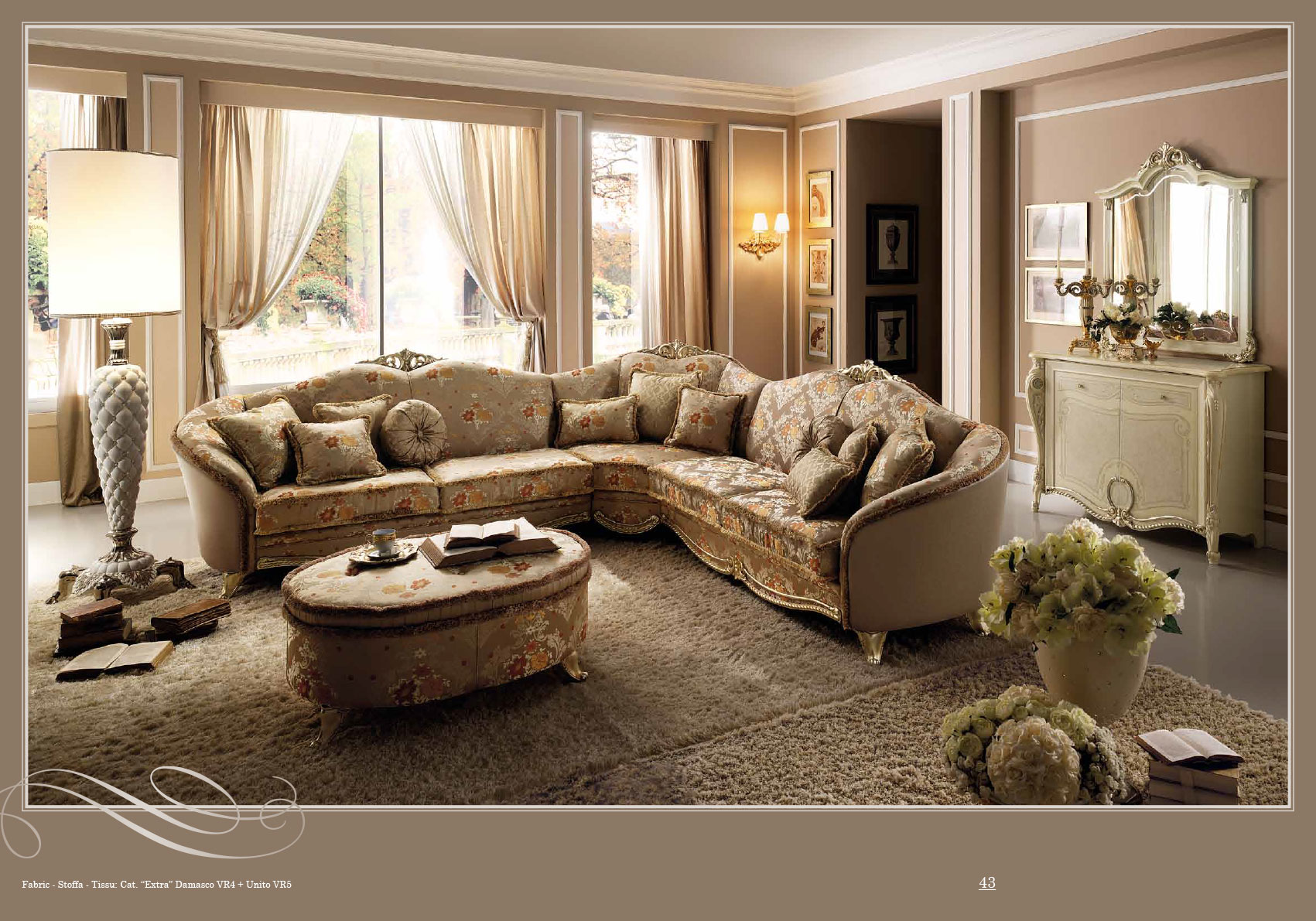 Brands Arredoclassic Living Room Italy Tiziano Lounge