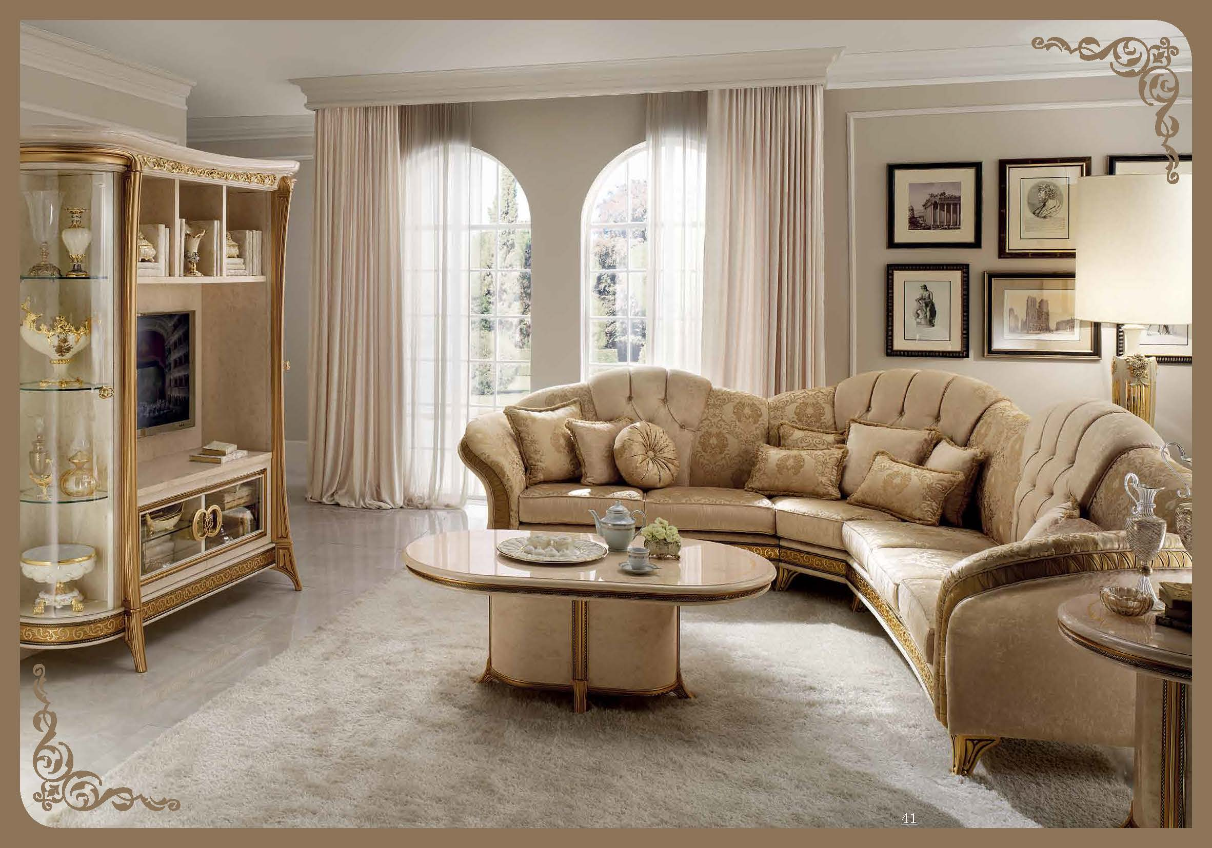 Melodia Lounge, Arredoclassic Living Room, Italy, Brands