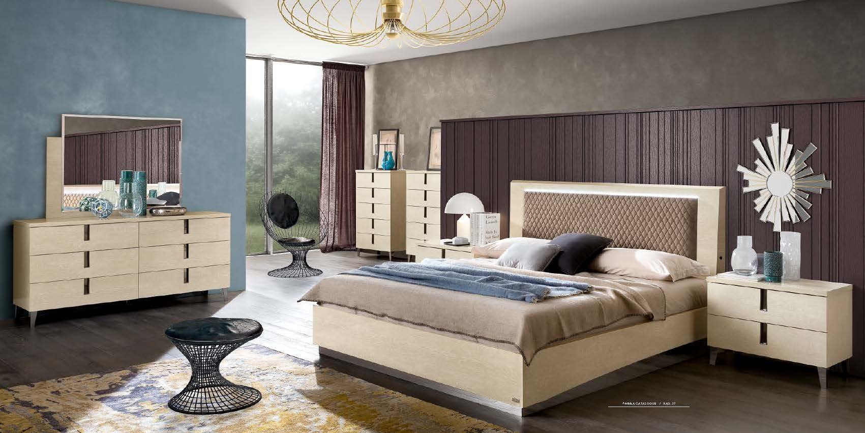Brands Camel Modern Collection, Italy Ambra Bedroom Additional Items