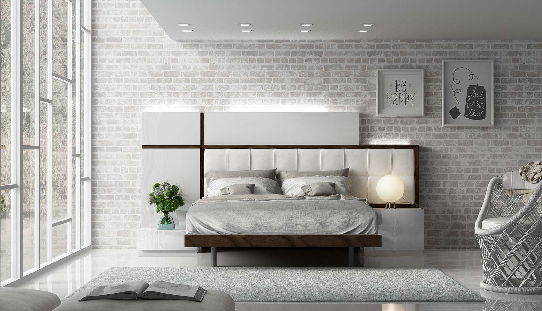 Brands Fenicia Modern Bedroom Sets, Spain Fenicia Composition 23 / comp 603