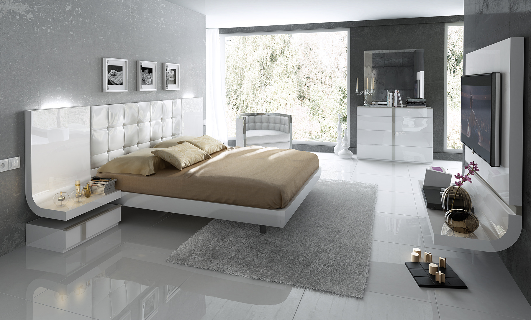 Brands Fenicia  Modern Bedroom Sets, Spain Fenicia Composition 49 / comp 514