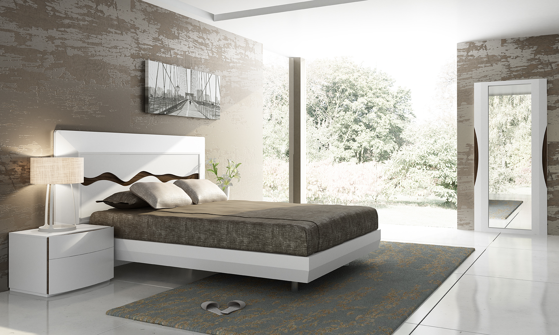Brands Fenicia Modern Bedroom Sets, Spain Fenicia Composition 60 / comp 500