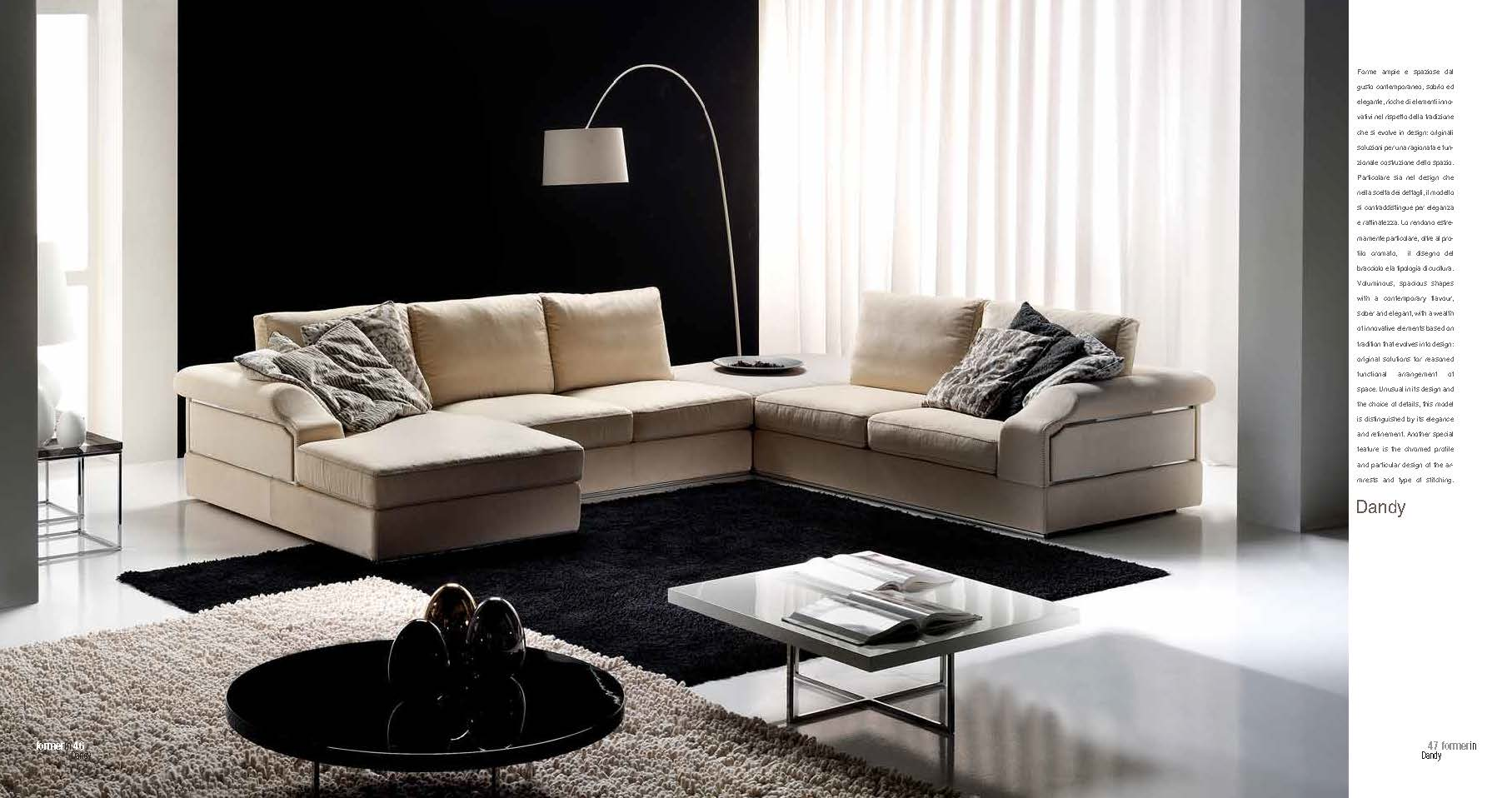 Brands Formerin Modern Living Room, Italy Dandy