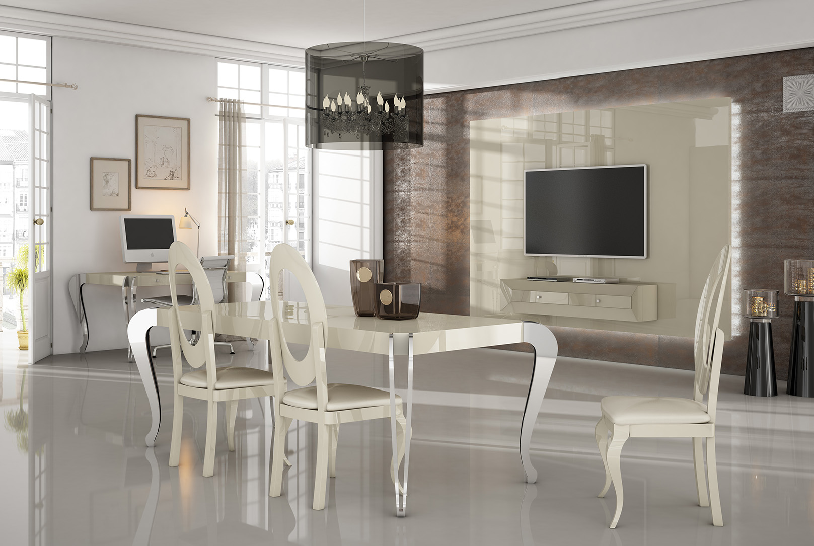 Brands Franco Kora Dining and Wall Units, Spain KORA 10