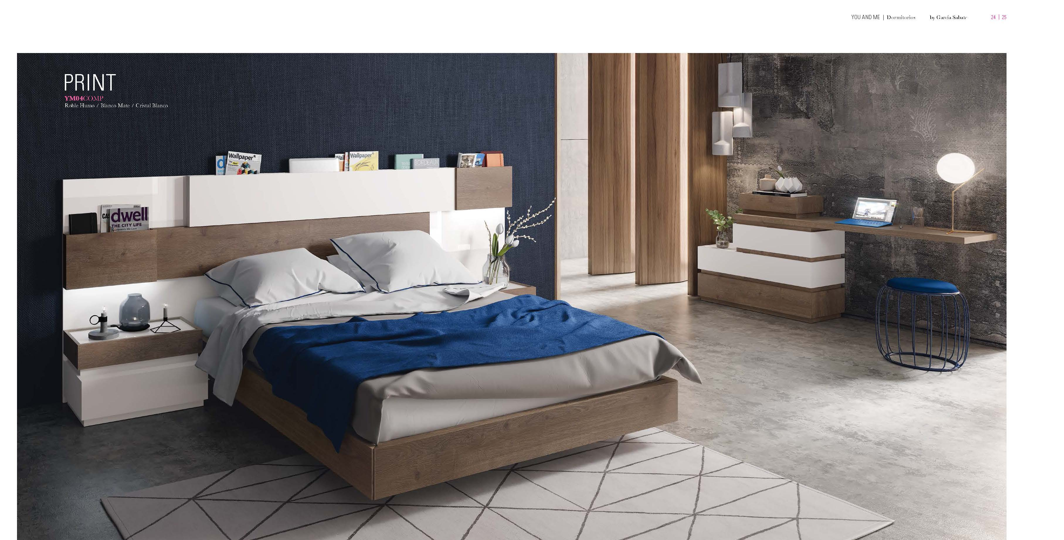 Brands Garcia Sabate, Modern Bedroom Spain YM04