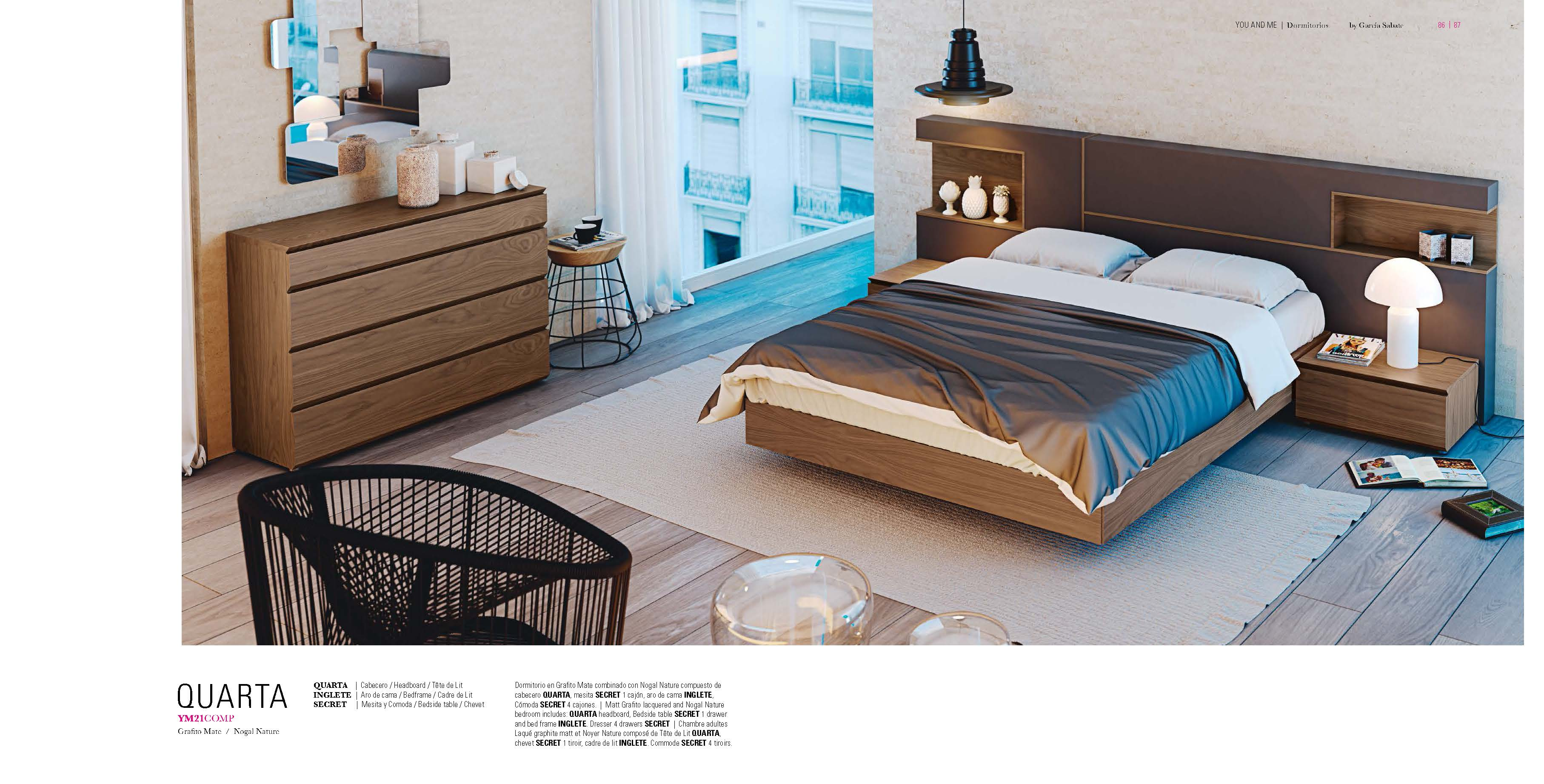 . Bedroom Furniture Beds with Storage YM21