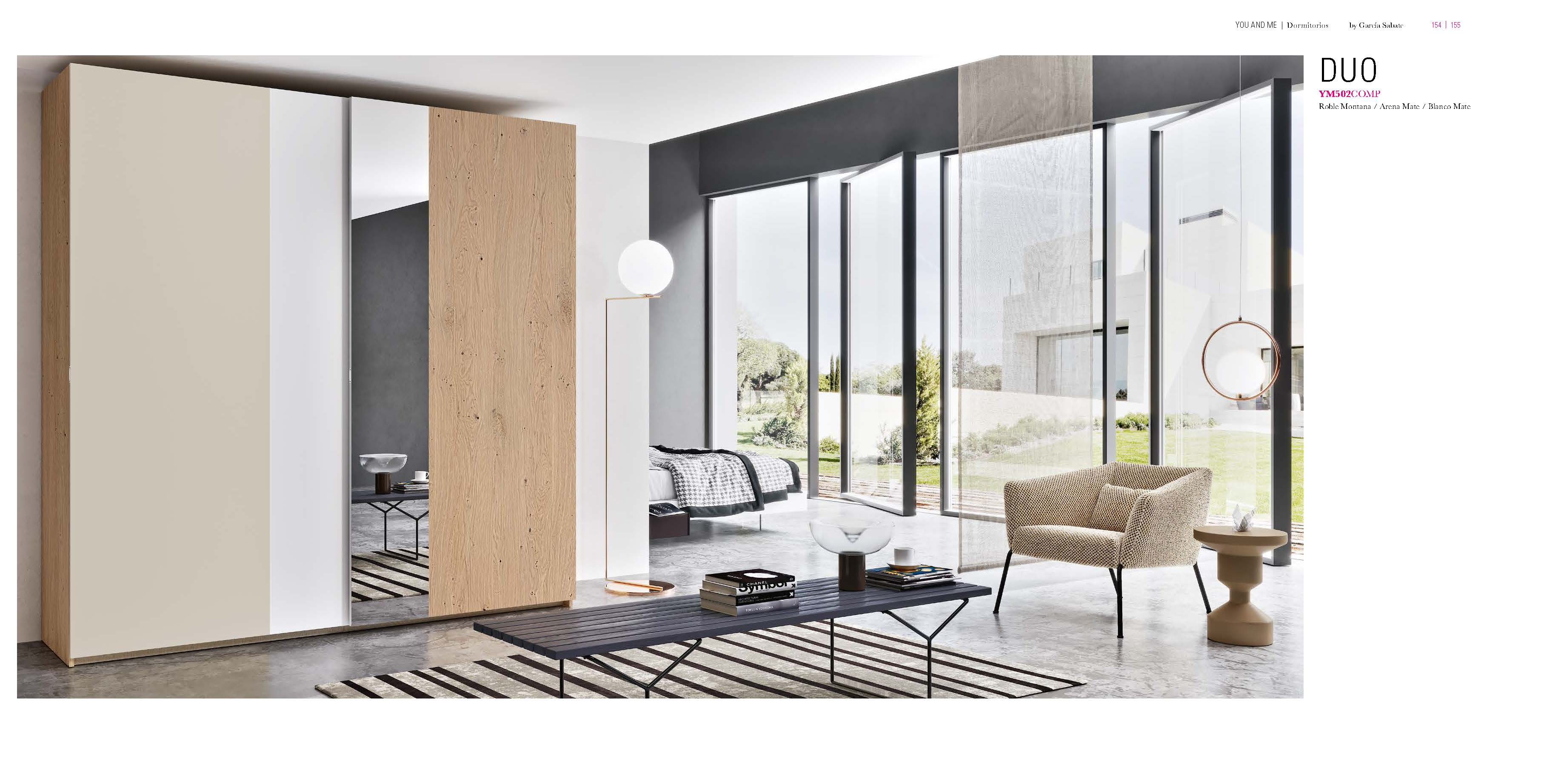 Brands Garcia Sabate, Modern Bedroom Spain YM502 Sliding Doors Wardrobes