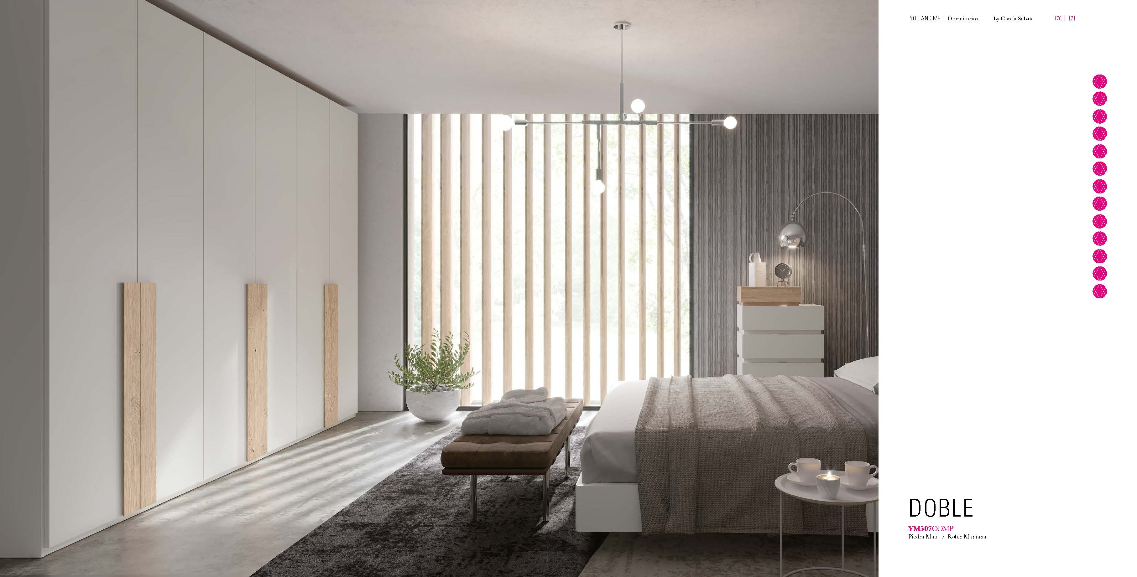 Brands Garcia Sabate, Modern Bedroom Spain YM507  Wardrobe