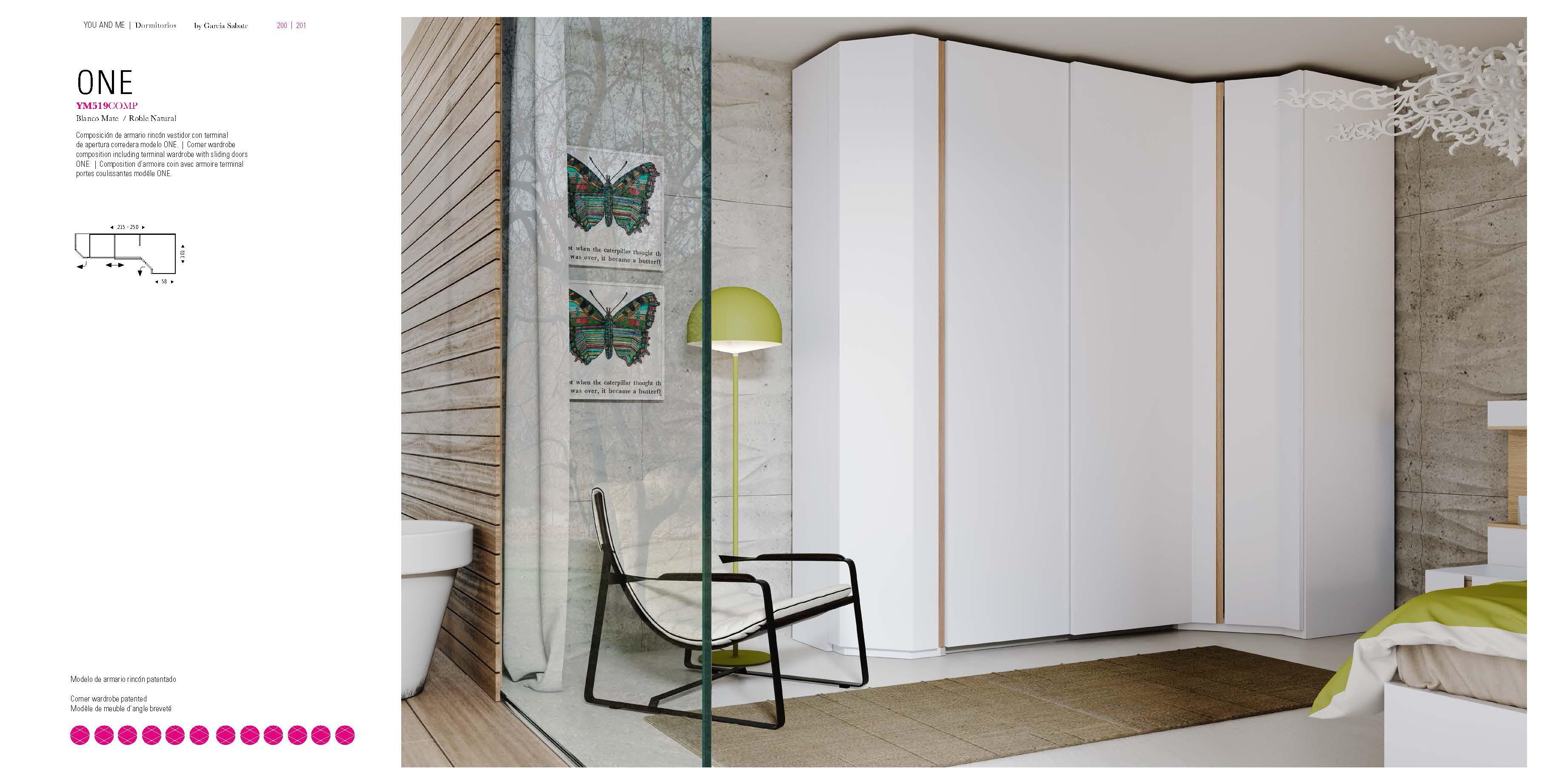 YM519 Wardrobe, Modern Bedrooms, Bedroom Furniture