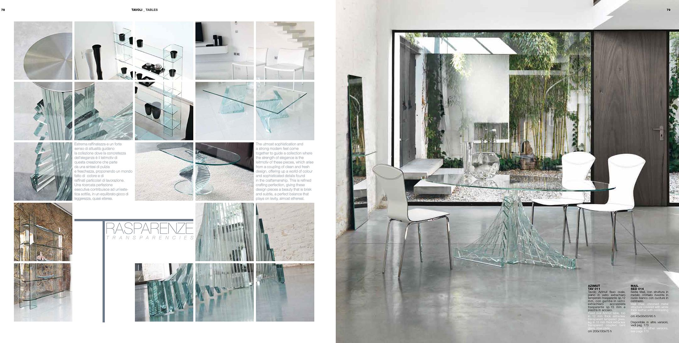 Azimut modern formal dining sets dining room furniture