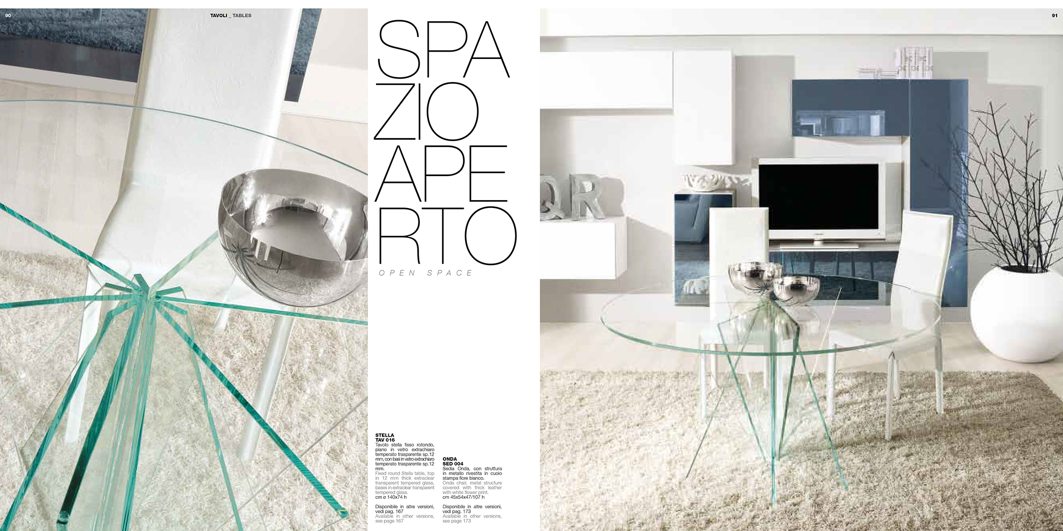 Brands Unico Tables and Chairs, Italy STELLA