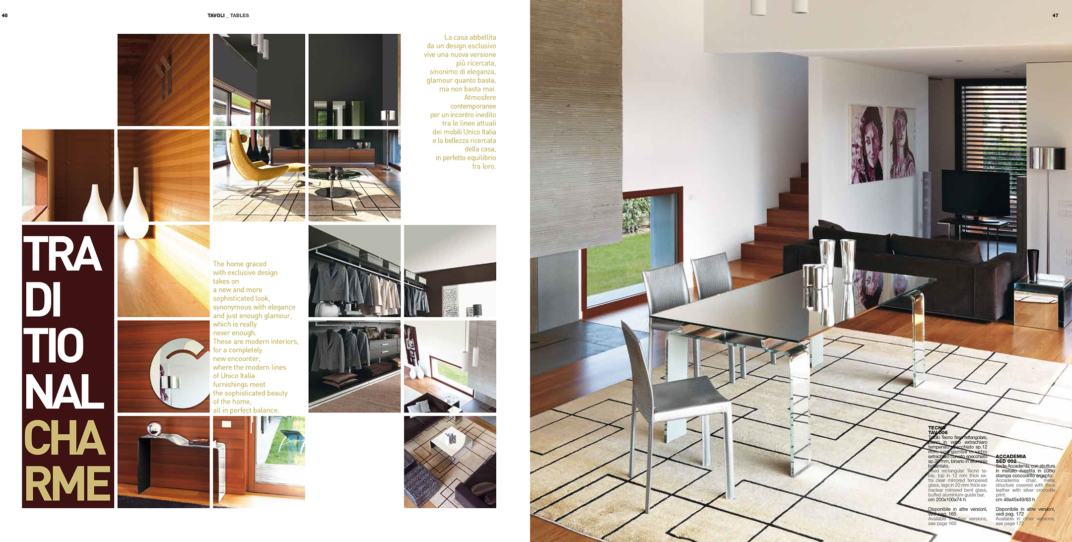 Brands Unico Tables and Chairs, Italy TECHNO