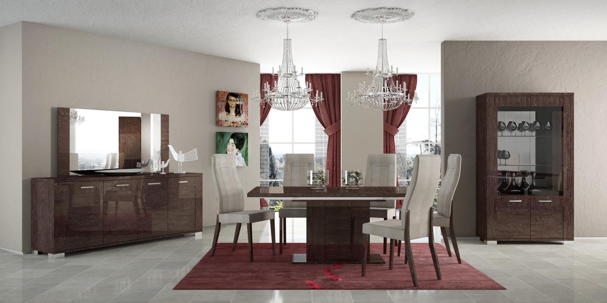 Prestige Dining Modern Formal Dining Sets Dining Room Furniture - Modern formal dining rooms