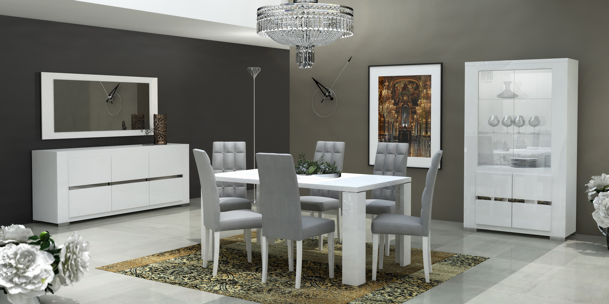 Modern formal dining room sets - Dining Room Furniture Modern Formal Dining Sets Elegance Dining Room