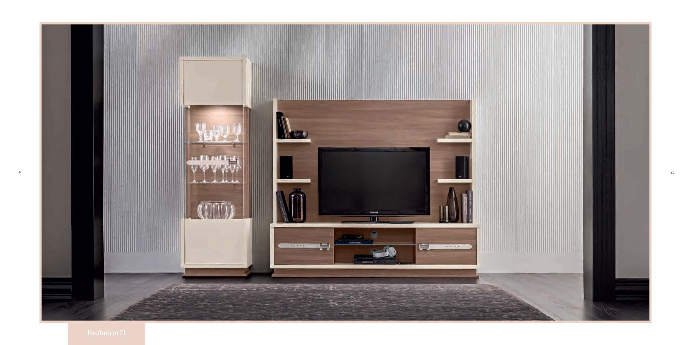 Wallunits Entertainment Centers Evolution TV Composition