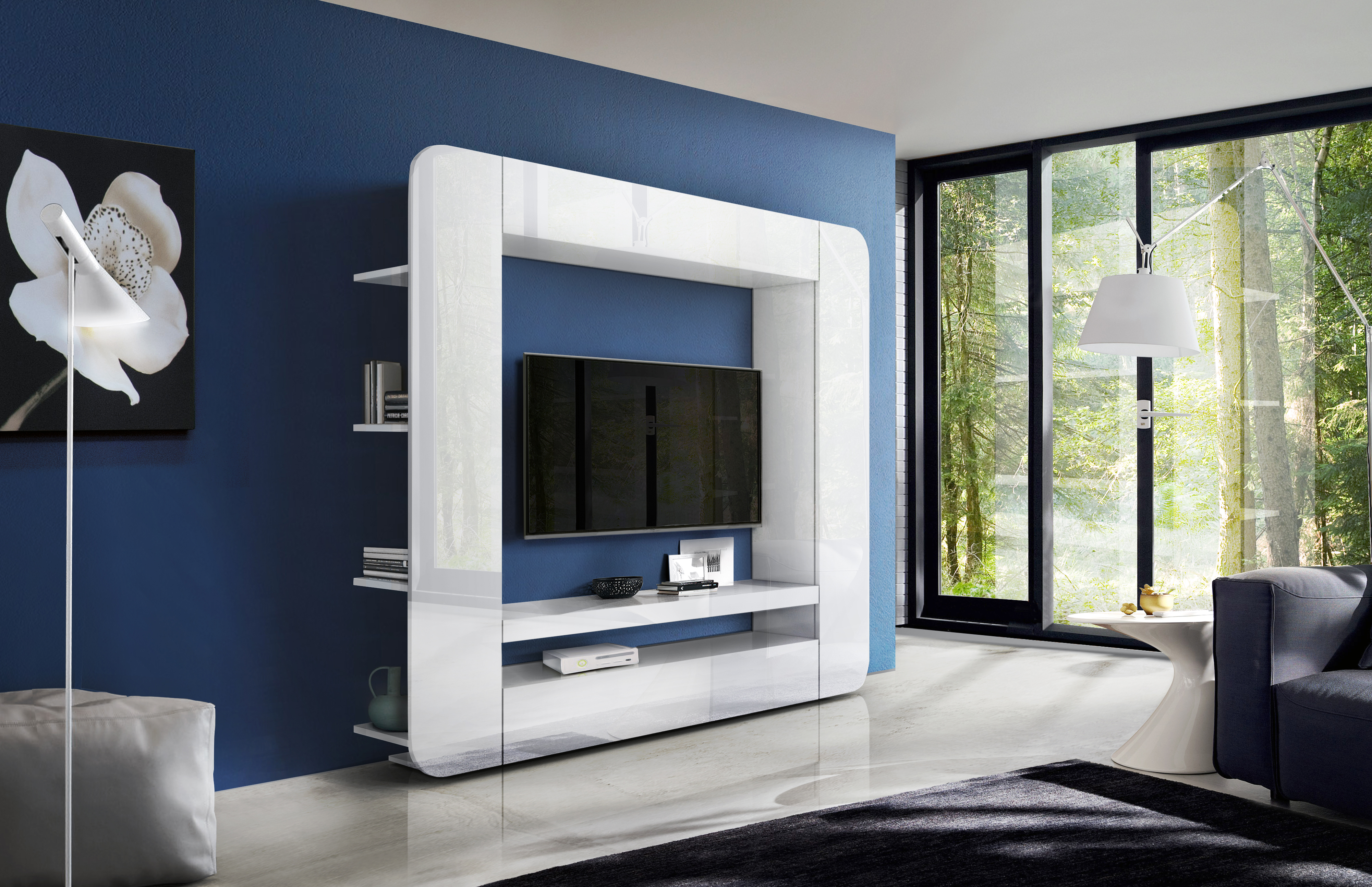 Prisma Wall Unit White, Mattresses, Wooden Frames, Bedroom ...