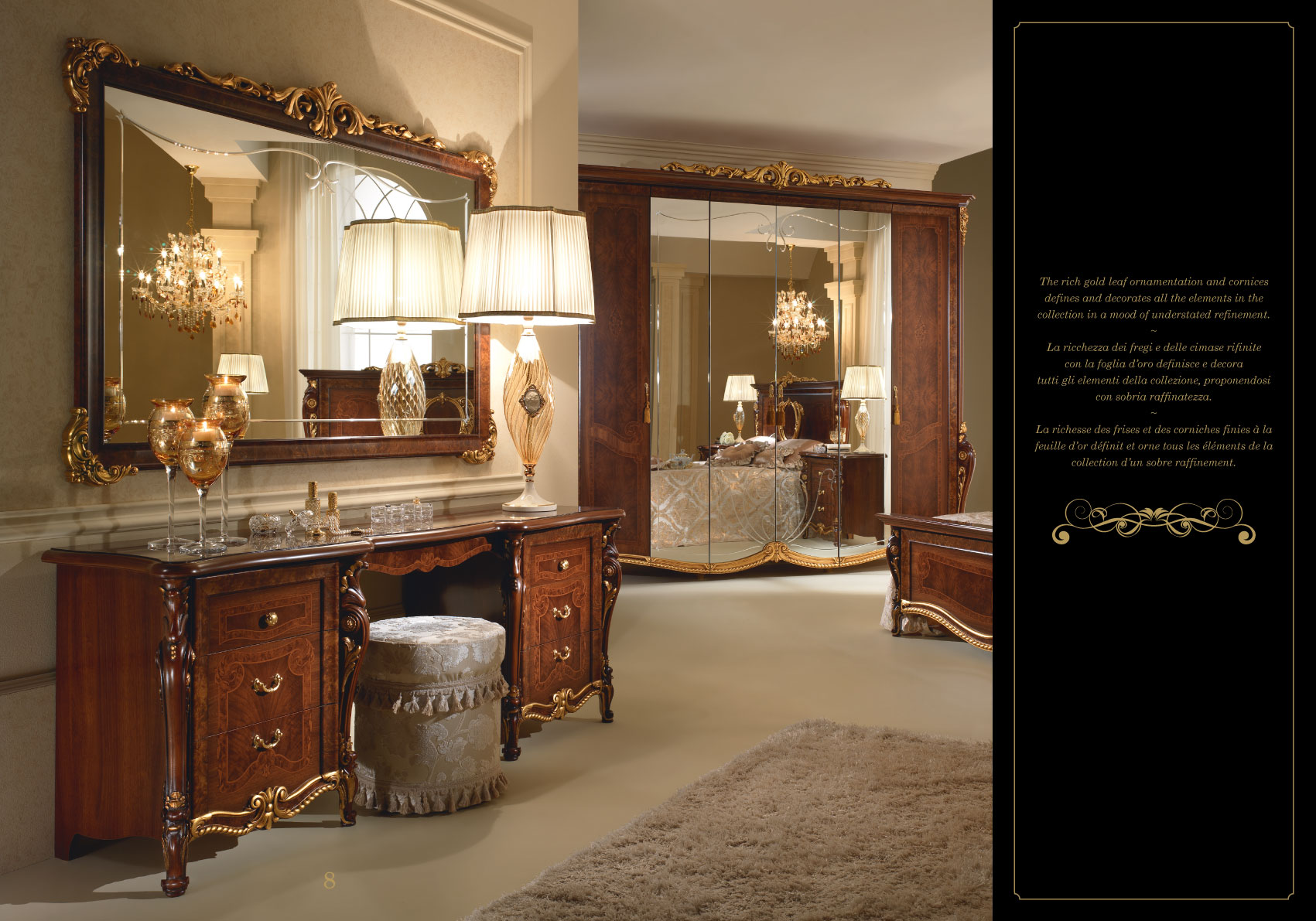 Donatello Night Arredoclassic Bedroom Italy Collections